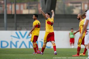 Benevento, ITALIA - 20 Sep 2015 : Lega Pro - Stagione 2015/16 - Stadio Ciro Vigorito - Benevento vs Foggia. (Photo © Mario Taddeo 2015) In foto da sx :