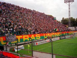 Venezia-Fans, Zuschauer, Publikum, Venezia Stadion