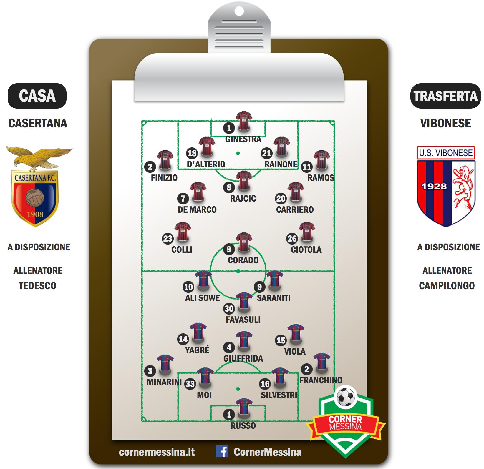 Casertana-Vibonese